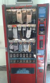How To Glitch A Vending Machine Delectable This University Has A Sock Vending Machine Mildlyinteresting