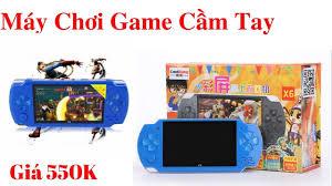 Trên tay máy chơi game cầm tay giá rẻ - máy chơi game x6 giá 550k - review  gia rẻ