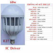 Bóng đèn LED siêu sáng 60w