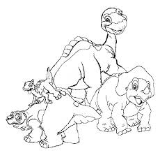 Small Picture Land Before Time Coloring Pages GetColoringPagescom
