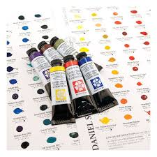 Daniel Smith Watercolor Dot Chart Daniel Smith Extra Fine Watercolor 238 Dot Try It Card
