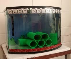 Mario Brothers Aquarium Decorations Mario Bros Fish Tank 5 Steps With Pictures