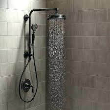 brushed nickel rain shower head with handheld brushed nickel rain shower head with handheld rain shower