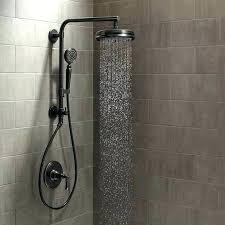 brushed nickel rain shower head with handheld brushed nickel rain shower head with handheld rain shower