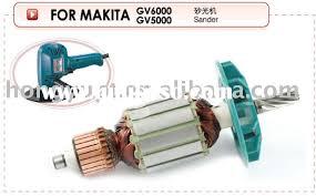 power tools spare parts ar rotor stator starter field coil gear alternator for makita gv6000