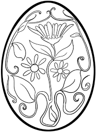 Easter Eggs Coloring Pages - coloringsuite.com