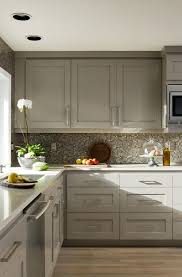 Kitchen Designs With Oak Cabinets Interesting The Psychology Of Why Gray Kitchen Cabinets Are So Popular Home