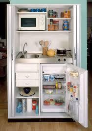 Cocina En Un Armario Con Frigorífico Con O Sin Congelador Una Cocina En Un Armario