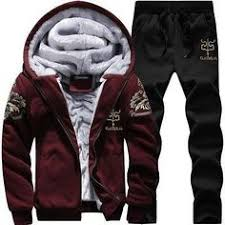 <b>WENYUJH</b> Zipper Tracksuit Men Set Sporting Two Pieces Sweatsuit ...