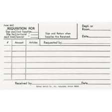 Purchase Orders Requisition Forms