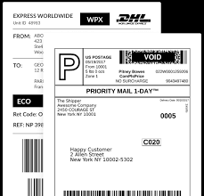 how to print a shipping label postmen print shipping labels