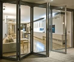 solid oak bifold patio doors premium