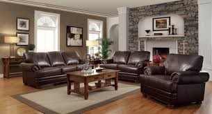 living room decorating ideas dark brown. Living Room Decorating Ideas With Dark Brown Leather Furniture Regard To Most Enchanting T
