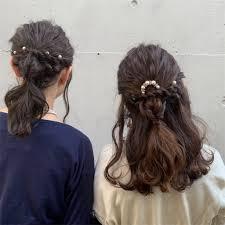 結婚式のお呼ばれヘアアレンジ Tetenico