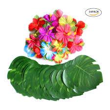 30 шт. <b>искусственный тропический</b> пальмовых листьев и 24 шт ...