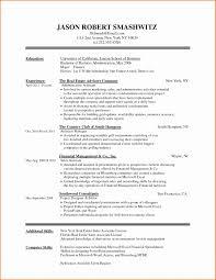 Basic Sample Resume Simple Resumes Samples Template Cv Jobsxs Com