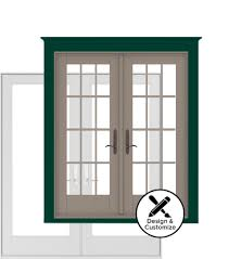 center hinged patio doors. Andersen Windows Design Tool - 200 Series Hinged Patio Door Center Doors