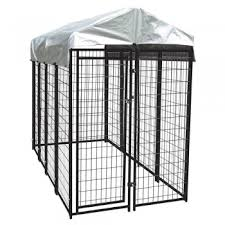 the lucky dog uptown welded wire dog kennel with cover review