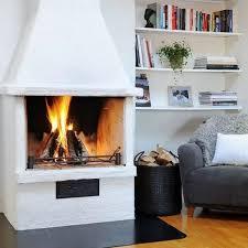 ... 35 Ideas for scandinavian fireplaces