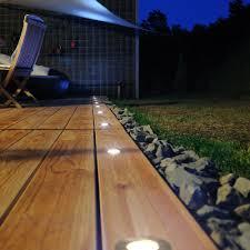 image of recessed outdoor lighting floor