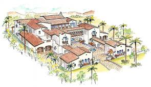 exciting tuscan style house plans with courtyard images ideas interiors designs
