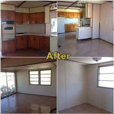 Mobile Home Repair Before And After