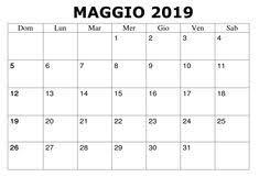 40 Best Calendario Maggio 2019 Da Stampare Images