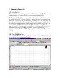 Ms Excel For Accountants