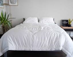 a low shot of a bed