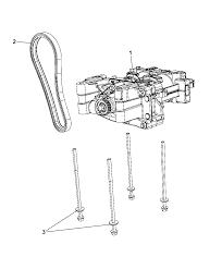 2012 jeep patriot balance shaft oil pump assembly thumbnail 5