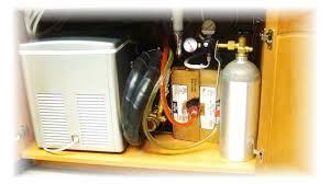 home soda fountain system cabinet installation