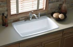 kohler cape dory sink. Perfect Kohler The Cape Dory Sink Is A Kitchen Classic With Its Generous Single Bowl That  Simplifies The Task Of Washing Large Pots And Pans Crafted From Enameled Cast  With Kohler Sink Home Depot