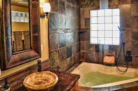 custom tile bath shower by troy couture
