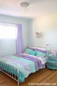 Perfect Girl Room Makeover Purple, Turquoise, Mint, Unicorn