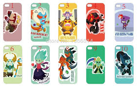 dota 2 cartoon hero case cover new arrival pc hard for iphone 4s