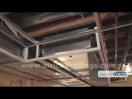 installing ceiling drops for a dropped