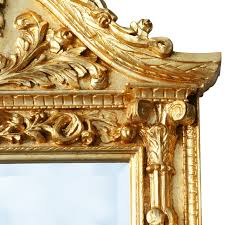 Small Picture Luxurious Golden Wall Mirror Baroque Design Home Dcor luxury pure
