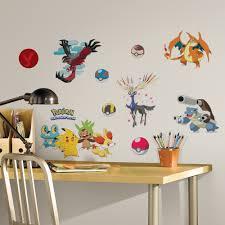 Pokemon Bedroom Wallpaper Twenty New Wall Stickers Under 20 Roommates Decor Blog
