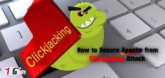 secure apache from jacking