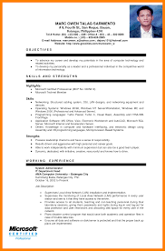 8 Sample Ojt Resume For Office Ad Global Strategic Sourcing