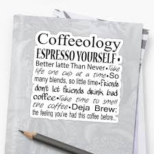 Coffee Barista Gifts Coffee Quotes Stickers