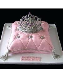 Inspirational Fancy Birthday Cakes Or Tiara Cake For Princess