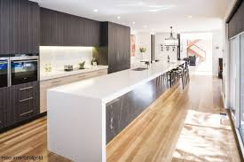 Contemporary Cherry Kitchen Cabinets Two Tone Edina