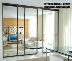 brilliant interior sliding glass doors intended for artistic in internal room dividers door