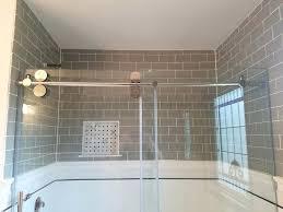 glass block shower kits sasa kitshowers canada uk