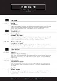 Modern Resume Templates Suiteblounge Com