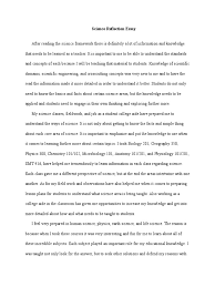 science reflection essay weebly science epistemology