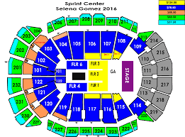 Selena Gomez Seating Chart Selena Gomez Sprint Center
