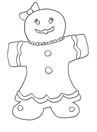 Gingerbread Man Characters Coloring Pages Jadoxuvaletop