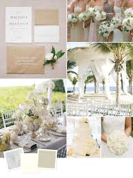 Love Wedding Decorations Beach Wedding Color Palettes We Love